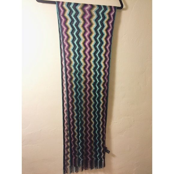 MISSONI scarf Very light weight MISSONI scarf. Not really for warmth. Perfect condition Missoni Accessories Scarves & Wraps