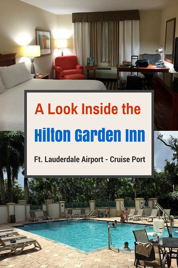 Look Inside Hilton Garden In Ft Lauderdale Airport - Cruise Port Hotel