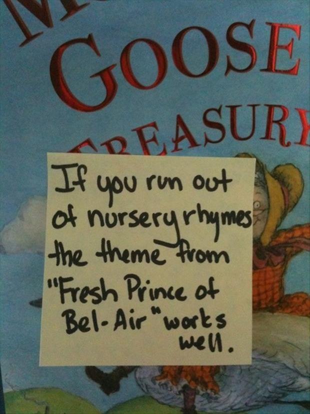 funny nursery rhymes