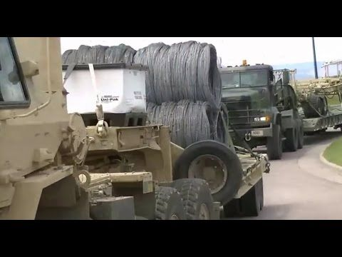 Razor Wire Transported through Colorado during Raider Focus Exercise Alex Ansary   Published on Jun 5, 2015 From All Pipeline News: Hundreds Of Miles Of Razor Wire On Convoy Trucks - Will It Be Used To Divide Colorado For Reconquista Or FEMA Camps For Those Who Rebel Against What's Coming? ALSO Global war games going on in other countries.