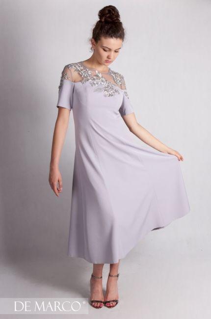 7679821737 Piękna sukienka na wesele 😍👌❤ Szycie na miarę w De Marco. Modna mama  wesela.  szycie  wesele  sukienka  businesswoman  officeclothes  suit   dresscoat ...