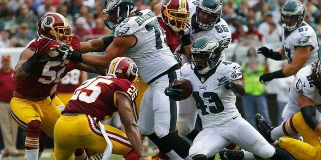 Philadelphia Eagles vs Washington Redskins Live (Fox Sports) NFL