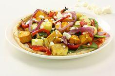 Roast Vegetable, Feta and Cashew Pizza | Tony Ferguson Weightloss Program