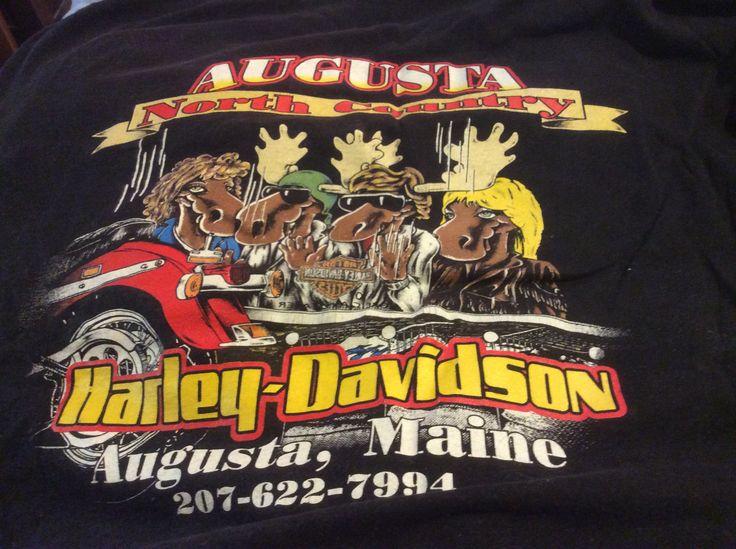 Maine Harley Davidson Shirts