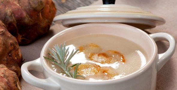 Rezept: Topinambur-Cremesuppe