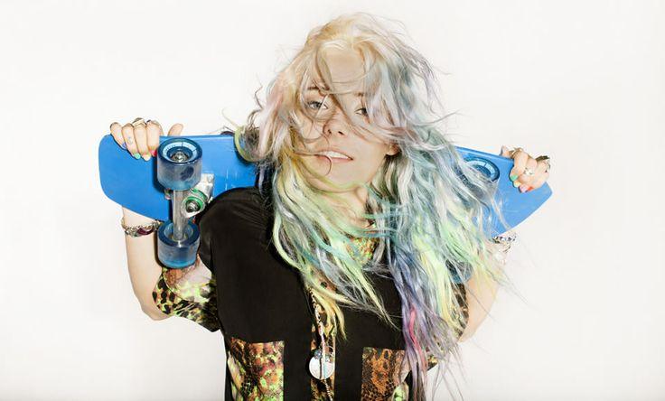 skate hair cool