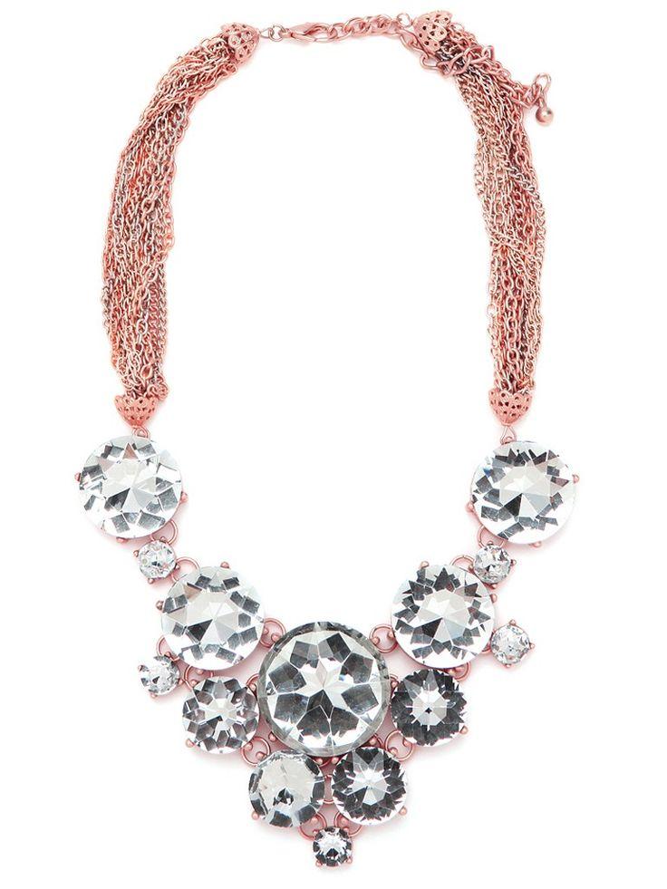 statement necklace.Rose Pinwheels, Baubles Bar, Statement Necklaces, S'Mores Bar, Bauble Bar, Bar Rose, Pinwheels Bibs, Crystals Necklaces, Bibs Necklaces