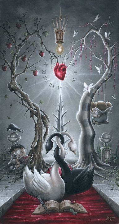 Paintings   Anthony Clarkson's Grim Wonderland