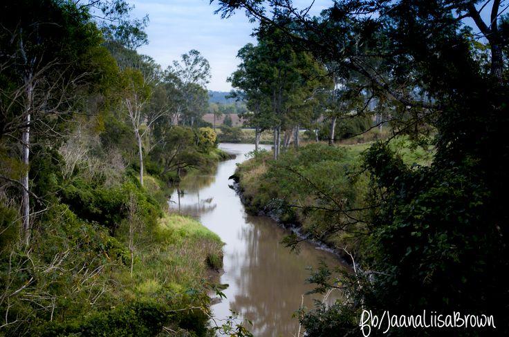 Woogaroo Creek off the Brisbane River from Brisbane Terrace , Goodna  #studentphotographer #JaanaLiisaBrown #NaturePhotography #BrisbaneRiver #Nikon #NikonD5000 #shooteveryday #Brisbandterrace #Woogaroocreek  www.jaanaliisabrown.com www.facebook.com/jaanaliisabrown