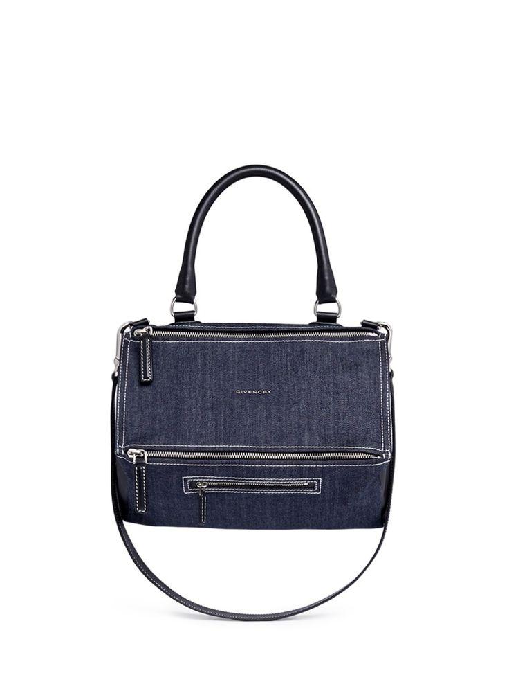 'Pandora' medium denim bag. Givenchy BagsCanvas ...