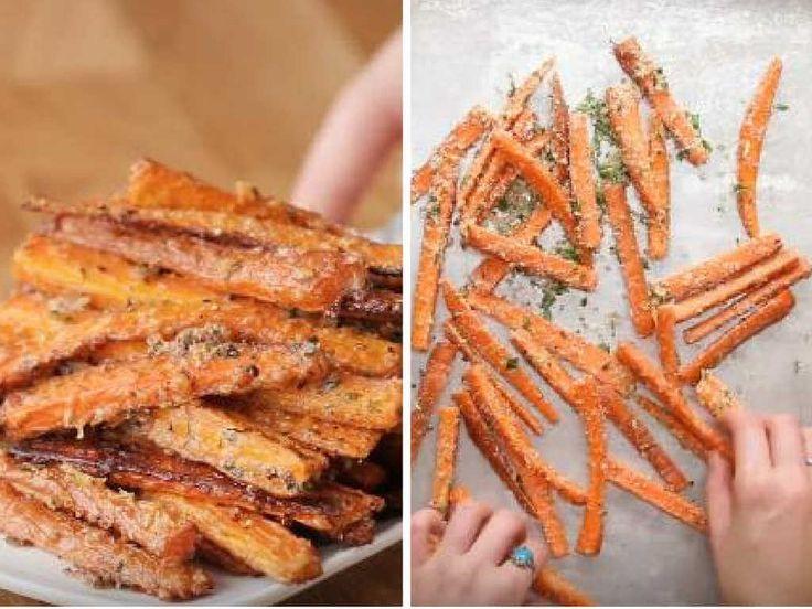 Nie masz pomysłu na zdrową przekąskę? Koniecznie wypróbuj przepis na pieczone, zdrowe frytki z marchewki. Smakują lepiej niż tradycyjne!
