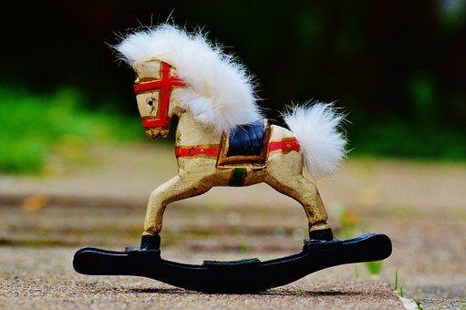 Игрушечный Конь Качалка, Игрушки