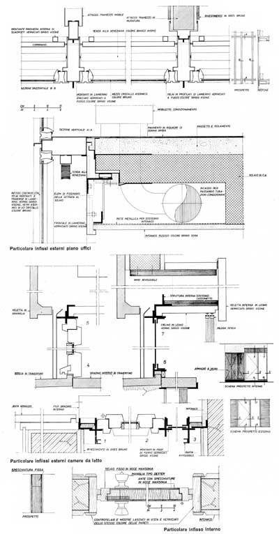Detalles constructivos - Edificio Polifunzionale in via Campania - Hnos. Passarelli