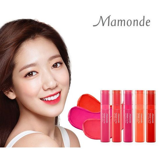 Korea Cosmetics Mamonde Hightlight Lip Tint 4g K-DRAMA Park Shin Hye Lip Gloss #Mamonde