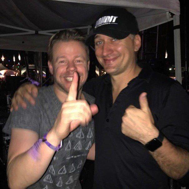 Ferry Corsten and Paul van Dyk