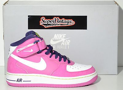 on sale 75ffe cdfb0 scarpa bambina NIKE AIR FORCE 1- ColFUCSIABIANCO - Mis EU 38,5 - US 6-  CM 24  WWW.SUPERVINTAGE.IT