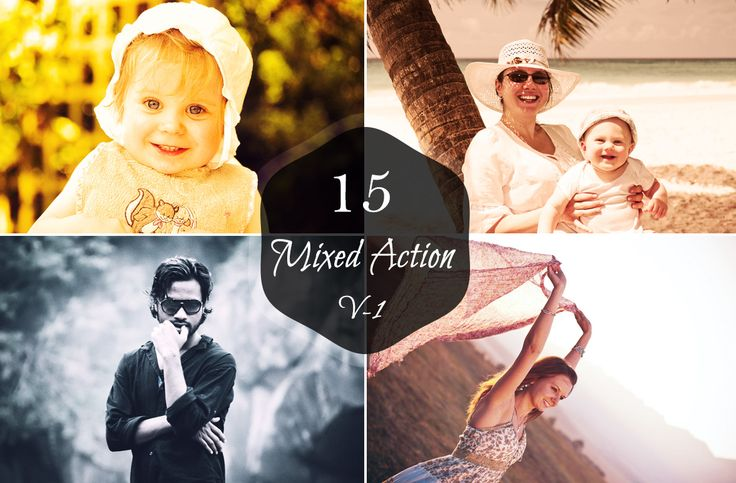 You will get $1 each time you share. 15 Mixed Actions Set -