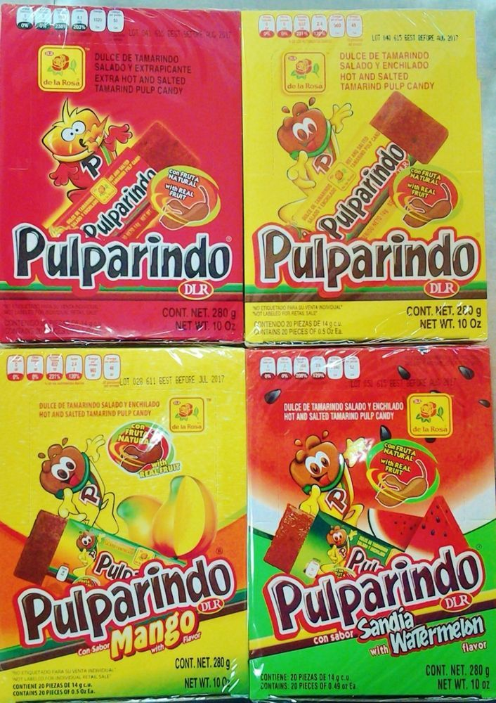 Pulparindo - You can get it at Mi Pueblo on Green Springs cheaply. My fave flavour is Mango