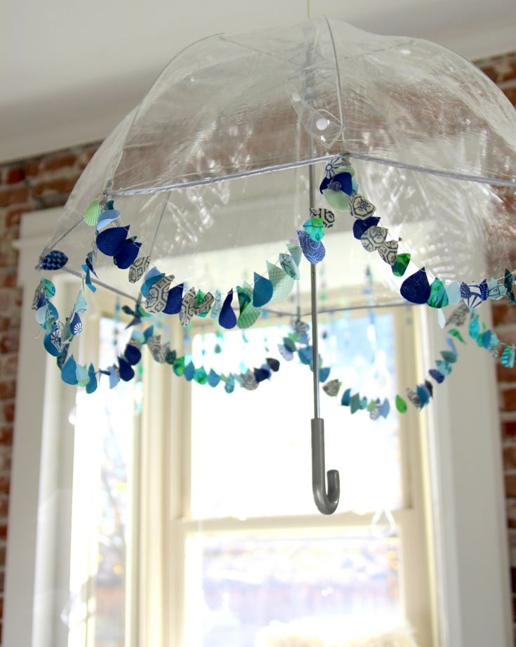 17 best images about showers a new mom on pinterest for Baby shower umbrella decoration ideas