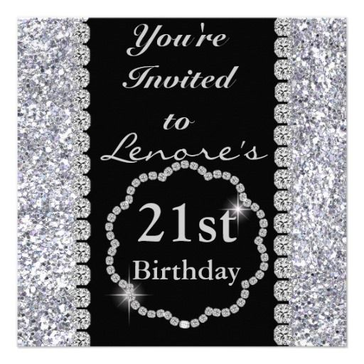 45 best 21st Birthday Party Invites and Gifts images on Pinterest