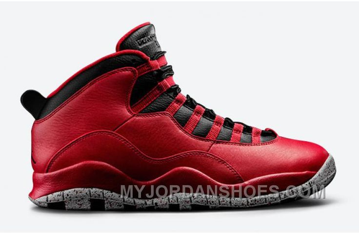 best service db35f 8192b ... cheap authentic 705178 601 air jordan 10 retro gym red black wolf grey  39887 35d24