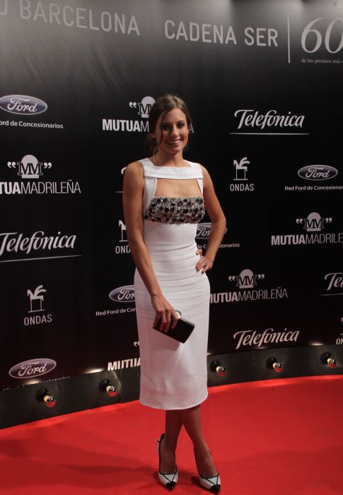 Alfombra roja de los Premios Ondas 2013