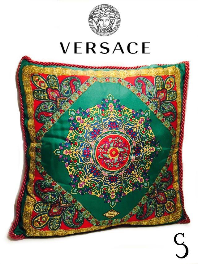 Authentic Gianni Versace Atelier Vintage Pillow #GianniVersaceAtelier
