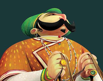 """Check out new work on my @Behance portfolio: """"The Maharaja"""" http://be.net/gallery/36029049/The-Maharaja"""