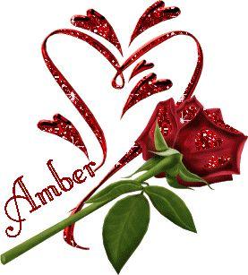 Amber name graphics