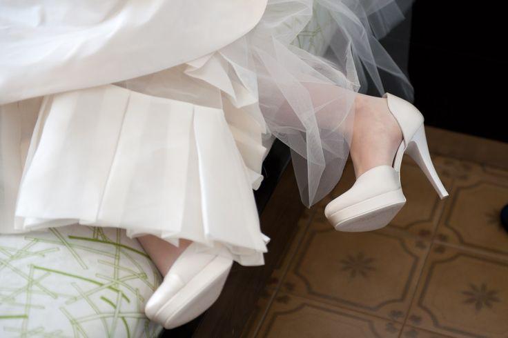 Tacchi alti che tortura!! #wedding #scarpe #sposa #matrimonio