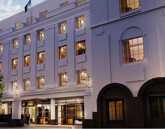 The Beaumont 1920s era Hotel, Mayfair - opening autumn 2014 - no idea if they even do weddings but it sounds beautifully chic!