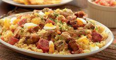 El arroz atollado es uno de los platos más típicos de la gastronomía colombiana. Típico del Valle del Cauca, pero también es una de las recetas tradicionales de la cocina colombiana
