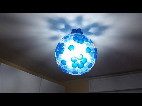 Chandelier DIY lampadario fai da te - YouTube