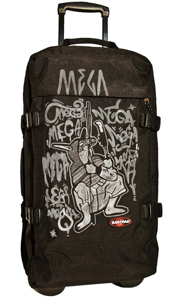 Tag My Bag Eastpak by Mega  More infos on http://www.ilovemega.com/blog/tag-my-bag-eastpak-mega/