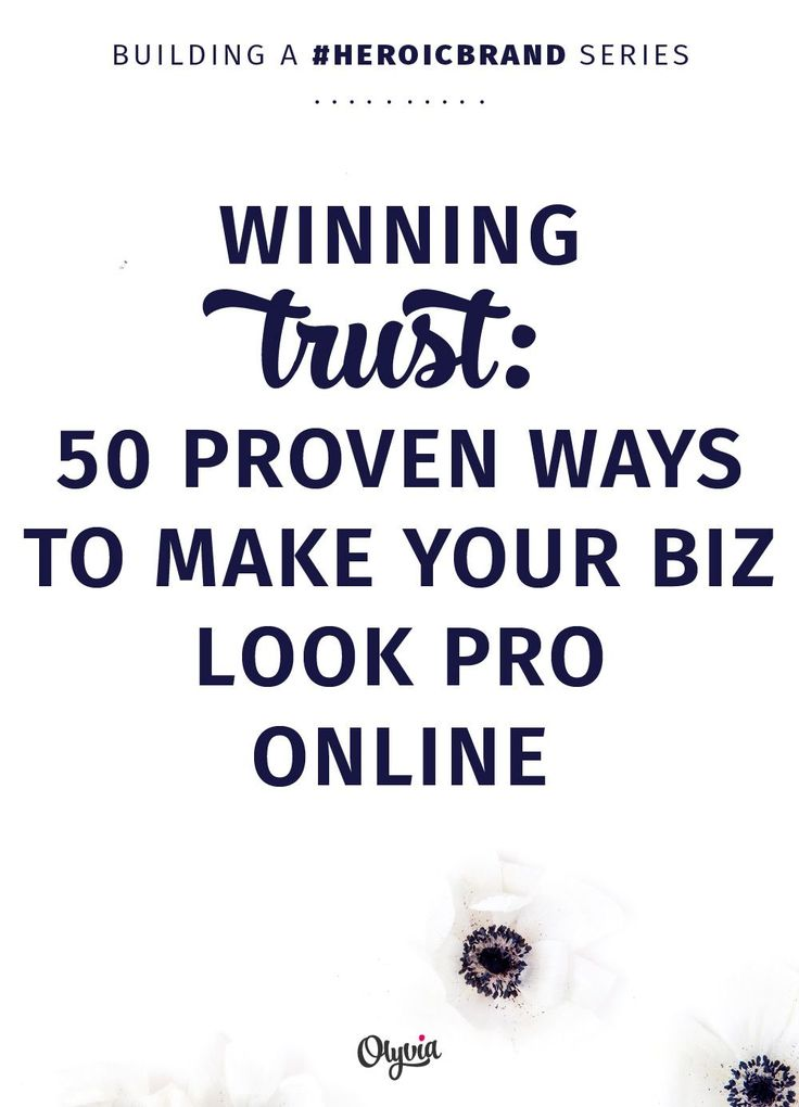 Use this heroic list of 50 proven ways to make your business look professional online to boost your brand cred and be more successful. The tips here will help you be a trusted, respected authority online, meaning you get the followers you want and the clients + customers you need.