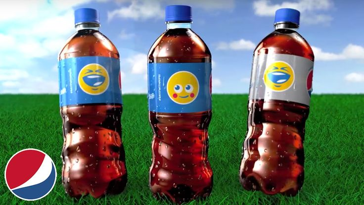 This commercial was published by Pepsi in 2016.The Pepsi put the different emoji on the bottles, let the audience think that different emoji on bottle can represent different situation or ideas for them.  Make many customers love it, buy it and use it.  #TRCM454 #PEPSI #EMOJI  https://www.youtube.com/watch?v=sgO-68zdcz4