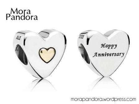 Pandora Mother's Day happy anniversary. Available now at Renaissance Fine Jewelry in Brattleboro, Vermont. Call us 1-800-251-0600 to order yours today!