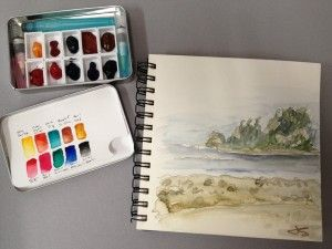 DANIEL SMITH Staff Rave:  Jodi Steele's Watercolor Travel kit for Camping and Hiking