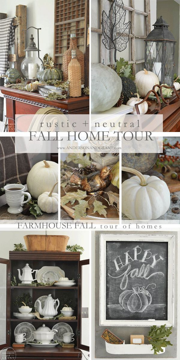 parka for men Check out this beautiful rustic and neutral fall home tour from anderson and grant