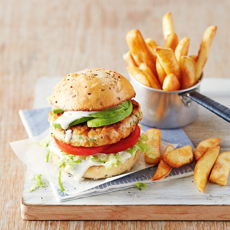 How to make delicious Prawn Burgers in under 30 minutes! #Dinner #Prawn #Burger
