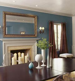Home Decor Photos: Cool Blues From The Nest. Find This Pin And More On Paint  Color: Dining Room ... Part 56