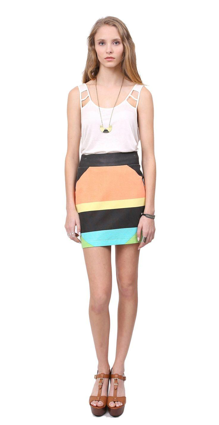 CLASH skirt | Gentle Fawn