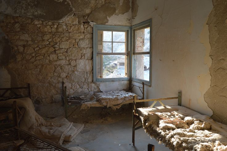 Abandoned Sulfur Mines (Theioryhia), Milos, Greece