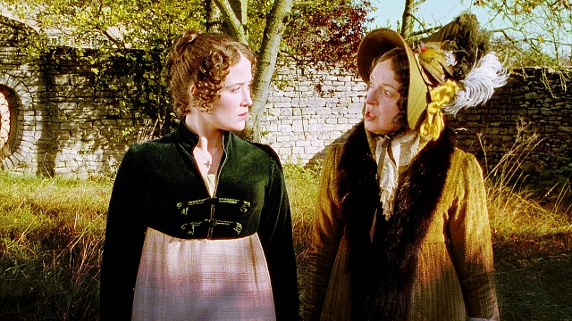 Image result for Lizzy and lady catherine de bourgh