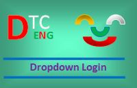 Example of Dropdown Login Form in Navbar Bootstrap | Detailed Technology Center
