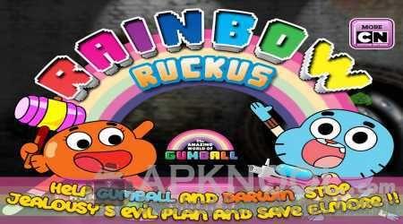 Gumball Rainbow Ruckus Unlock All MOD APK