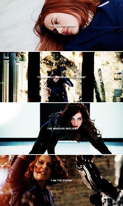 "The devil whispered:"" You cannot withstand the storm."" The warrior replies:"" I am the storm."" 