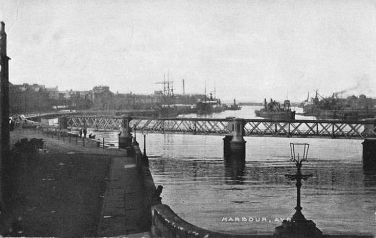 Harbour at Ayr  1906