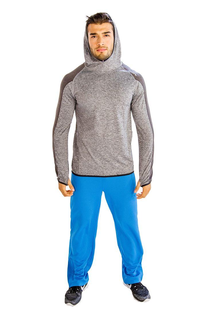 Electric Aqua Blue #Yoga #Pants for Men