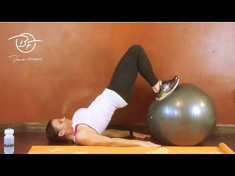 Core & Butt Workout with Fat Burning Cardio: 16 Minute HIIT | Bender Fitness